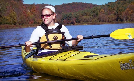 Half-Day Recreation Kayak Intro Workshop or Half-Day Kayak Self Rescue Workshop for One (a $70 value) - Wilderness Experiences in Southwick
