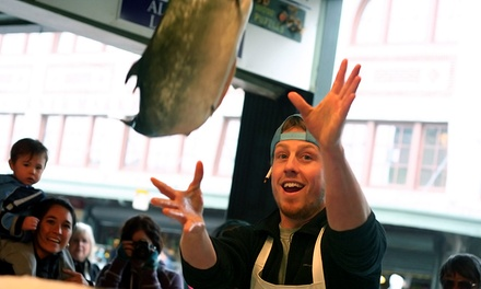 Food Tour of Pike Place Market for Two or Four from Savor Seattle (Up to 40% Off)
