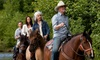 Garden Valley Trail Rides - Garden Valley Trail Rides: Horseback Trail Ride for Two or Four at Garden Valley Trail Rides (Up to 48% Off)