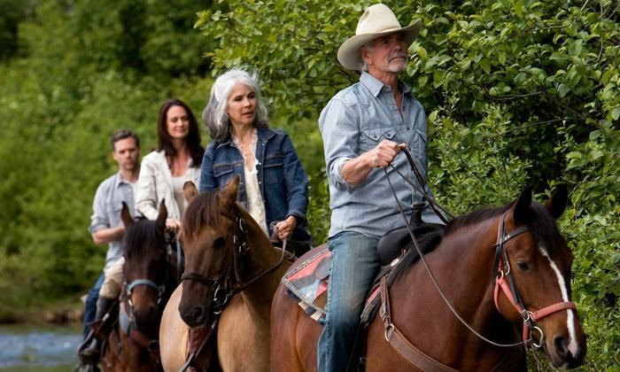 Garden Valley Trail Rides - Garden Valley: Horseback Trail Ride for Two or Four at Garden Valley Trail Rides (Up to 54% Off)