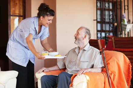 Four-Hour Stay with Services for Seniors at Senior Helpers LLC (50% Off)