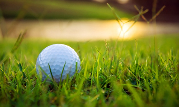 Riverbend Golf Complex - Kent: 20 or 40 Small Buckets or 10 or 20 Large Buckets of Driving-Range Balls at Riverbend Golf Complex (Up to 73% Off)