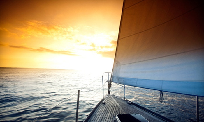 Southern Sailing - Slip 32: Four-Hour Intro to Sailing Lesson or BYOB Sunset Cruise for Two, Four, or Six from Southern Sailing (Up to 53% Off)