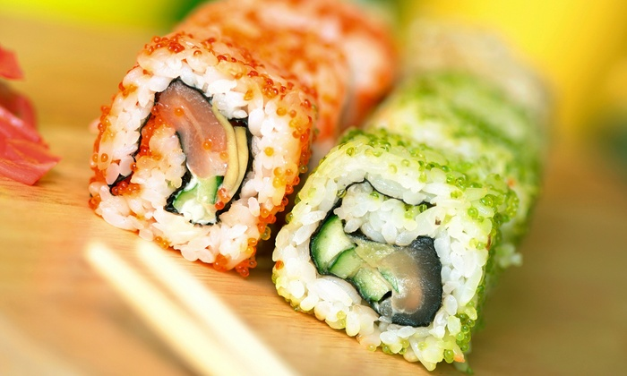 Isshin Sushi Bar and Asian Dining - Penticton: Japanese Food at Isshin Sushi Bar and Asian Dining (Up to 50% Off). Two Options Available.