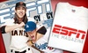 """ESPN Magazine: $13 for a Sports-Fan Package with a One-Year Subscription to """"ESPN The Magazine"""" and ESPN T-Shirt ($26 Value)"""