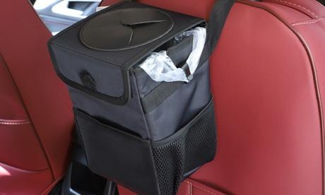 Cestino termico per auto 2 in 1, utilizzabile anche per gettare i rifiuti