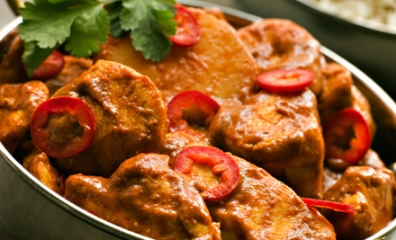 Indian Dinner for Two at Bhog Indian Restaurant (Up to 53% Off)