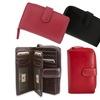 Visconti Women's Leather Clutch Wallet
