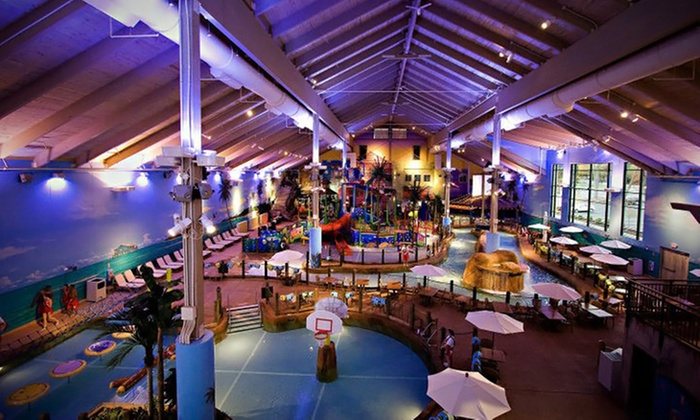 CoCo Key Water Resort - Waterbury, CT: Two or Four Weekday Indoor Water-Park Passes at CoCo Key Water Resort (Up to 50% Off)