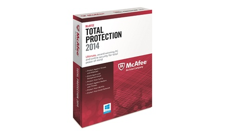 McAfee Total Protection 2014 for 3 PCs