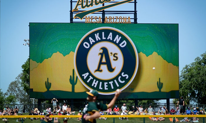 Oakland A's - HOHOKAM PARK: Oakland A's Spring Training Game on March 5, 17 or 20
