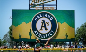 Oakland A's: Oakland A's Spring Training Game on March 5, 17 or 20