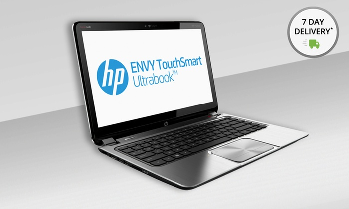 """HP Envy Touchsmart 14"""" Laptop: HP Envy Touchsmart 14"""" Laptop PC with Beats Audio (4-1215DX) (Manufacturer Refurbished). Free Shipping and Returns."""