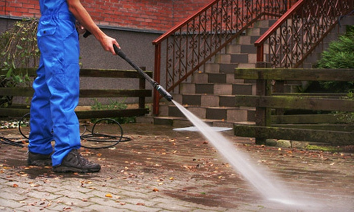 MGS Window Cleaning - MGS Cleaning Solutions: Pressure-Washing Services from MGS Window Cleaning (Up to 67% Off). Two Options Available.