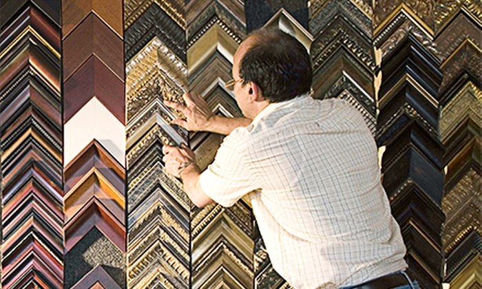 Picture Framing Warehouse and Art Gallery - Pompano Beach: $29 for $120 Worth of Custom Framing at Picture Framing Warehouse and Art Gallery