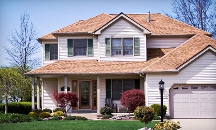 Oregon Painting and Repair - Springfield: Exterior House Cleaning and Power Rinse for One- or Two-Story Home from Oregon Painting and Repair (Up to 51% Off)