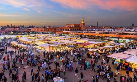Marrakech:días y 2 noches por persona en habitación doble con vuelo de ida y vuelta desde Madrid