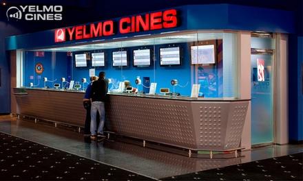 Entrada a Yelmo Cines para 1 persona con opción a menú (hasta 44% de descuento)