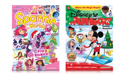 1-Year, 6-Issue Subscription to Disney Junior or Sparkle World