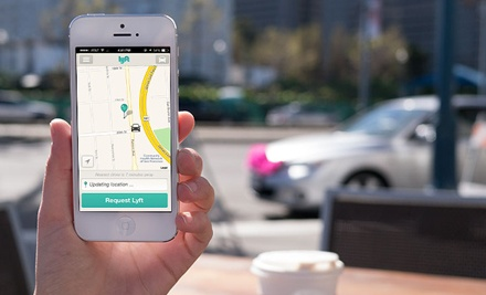 groupon daily deal - $5 for $20 Worth of On-Demand Ride Services from Lyft