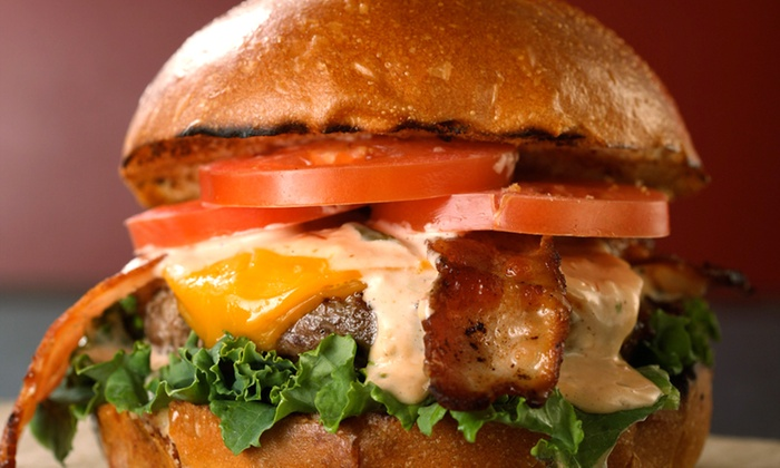 New York Burger Company - Flatiron District: Gourmet Burgers and Sides at New York Burger Company (Up to 40% Off). Two Options Available.