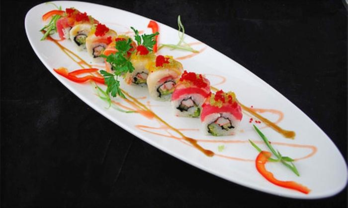 Czar Ice Bar & Sushi Restaurant - Atlanta: $20 for $40 Worth of Sushi and Drinks at Czar Ice Bar & Sushi Restaurant
