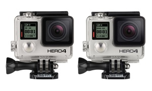 Gopro Hero 4 Silver Or Black Action Camera