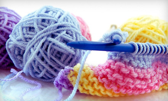 Knit Schtick - Newport Beach: Three Knitting 101 or Crocheting 101 Classes, or Any Five Knitting Classes at Knit Schtick (50% Off)