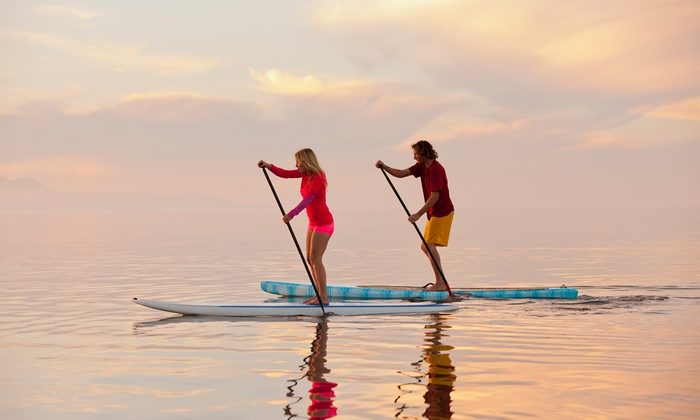 Paddle Method - Marina Del Rae- Mothers Beach: One-Hour Group Performance Paddleboard Lesson at Paddle Method ($101 Off). Two Options Available.