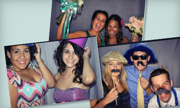 Flash Photo Booth - Allentown / Reading: Two-Hour Photo-Booth Rental Monday–Thursday or Four-Hour Rental Any Day from Flash Photo Booth (Up to 58% Off)