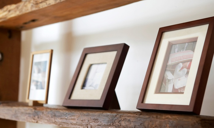 Frame It to a T - Asheville: $40 for $100 Toward Custom Framing Services at Frame It to a T