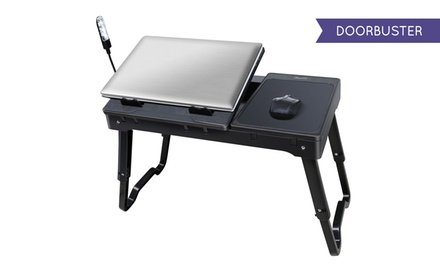 Multifunctional Laptop Table Stand With Cooling Fan And