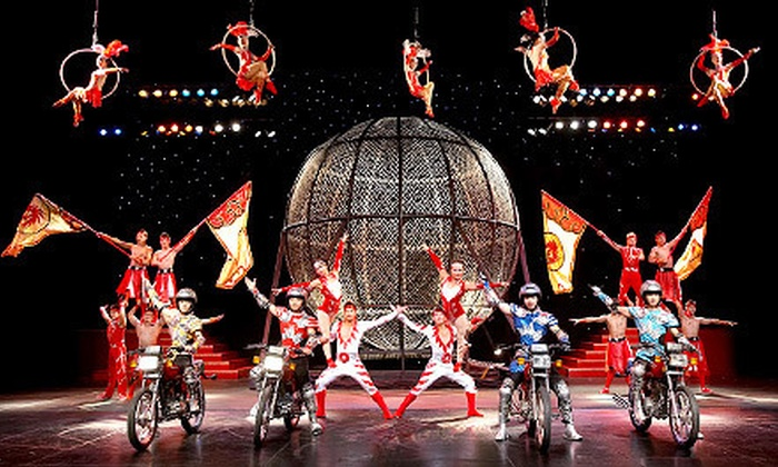 Cirque Shanghai - Near North Side: $15 to See Cirque Shanghai Acrobatics Show at Navy Pier ($29.50 Value). 21 Shows Available.