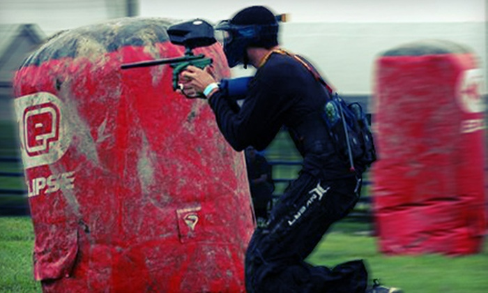 Xtreme Paintball Park - Xtreme Paintball Park: All-Day Paintball for Two or Four with Gear and Paintballs at Xtreme Paintball Park (Up to 54% Off)