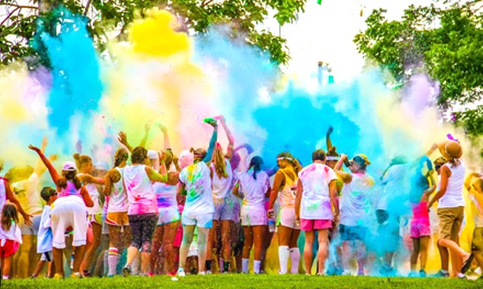 Color Blaze 5K - Springfield: $40 for Entry for Two to the Color Blaze 5K on Saturday, September 14 ($70 Value)