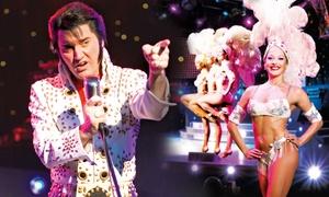 Concertbüro Oliver Forster: Elvis - Das Musical von Febr. - April 2017 in 8 Städten, u. a. in Berlin, Dresden, Braunschweig (bis zu 40 % sparen)