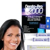 Denta-Pro 2000 Complete 3D At-Home Teeth Whitening Kit and Bonus items