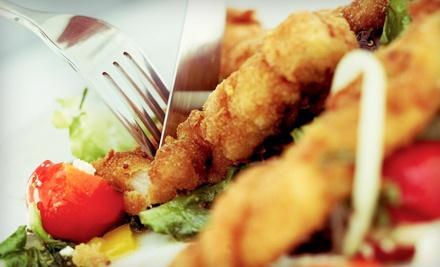 Dinner for 2 - The Fireside Cafe in Wingham