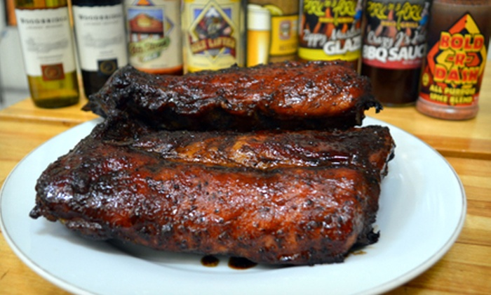 Pork on a Fork BBQ Grill - Deer Valley: Family Feast Barbecue Bundle or $10 for $20 Worth of Competition-Style Barbecue at Pork on a Fork BBQ Grill (Half Off)