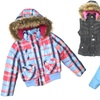 Little Girls' Dollhouse Bubble Jackets and Vests