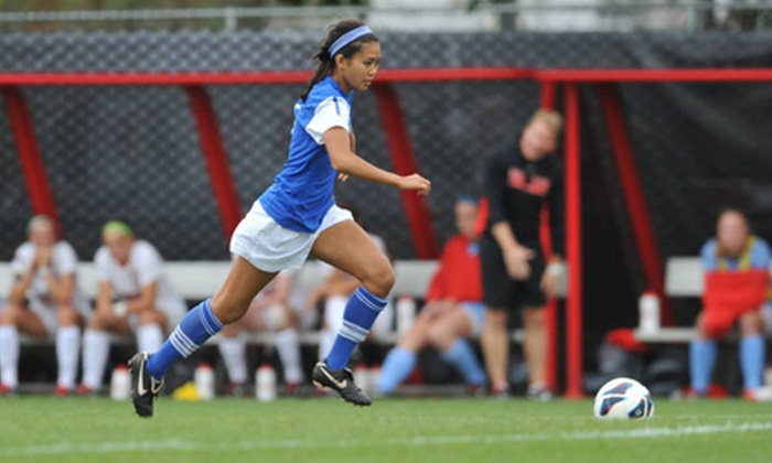 Saint Louis University Billikens - Multiple Locations: $5 for a Saint Louis Billikens Women's Soccer Match or Volleyball Game ($12.80 Value). Two Games Available.