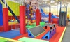 Jump On In  - South West: Two Open Jump Passes or One Big Jump Birthday Party for Up to 25 People at Jump on In (Up to 50% Off)