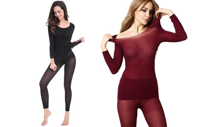 grand assortiment remise chaude fabrication habile jusqu'à 68% Sous-vêtements thermiques fins | Groupon