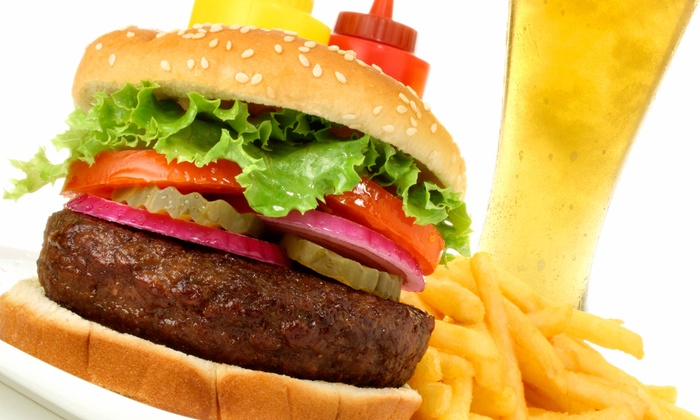 Shak. Billiards - Southeast Boise: Four Burgers or 12 Pork Sliders with Fries and Pitcher of Beer, or Four Burgers at Shak Billiards (Up to 54% Off)