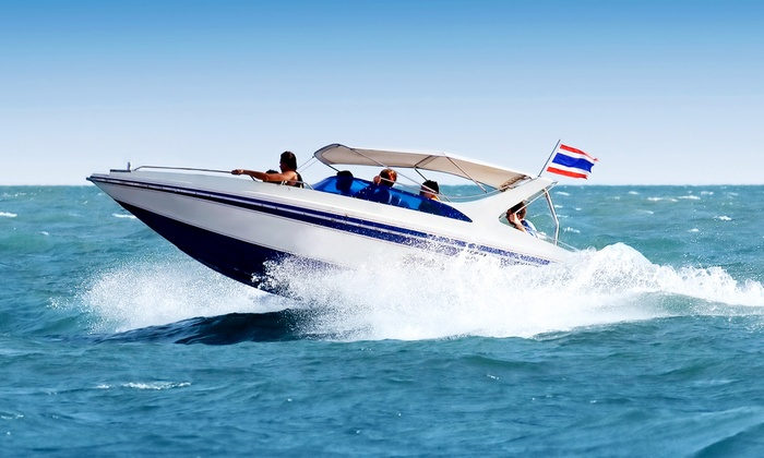 Apollo Beach Watersports, LLC - Apollo Beach: $99 for Two-Hour Deck Boat Rental from Apollo Beach Watersports, LLC ($130 Value)