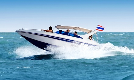Full-Day Boat Rental at Naples Extreme Family Fun Spot (Up to 52% Off). Three Options Available.