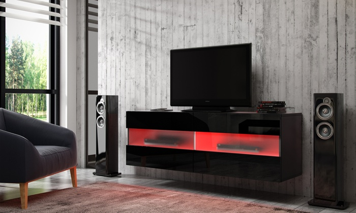 tv schrank mit led groupon goods. Black Bedroom Furniture Sets. Home Design Ideas