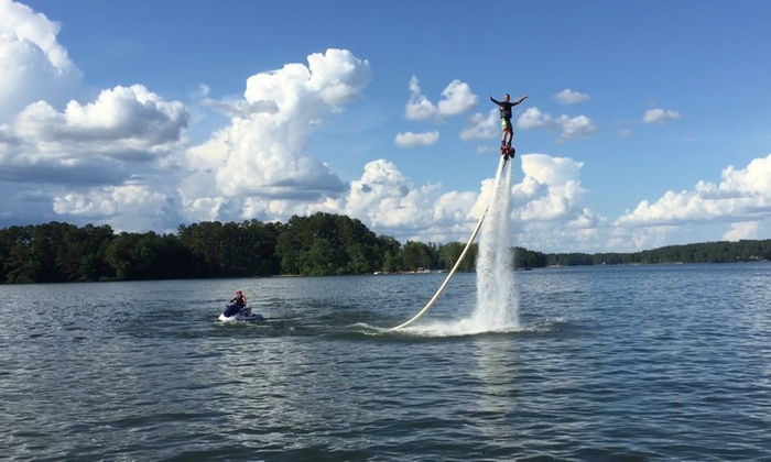 Central Georgia Flyboarding, LLC - Cobblestone Estates: Up to 56% Off Flyboarding at Central Georgia Flyboarding, LLC