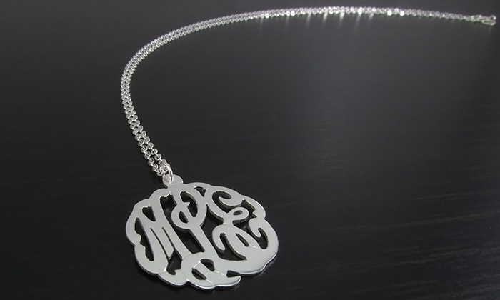 Namejewelryspot.com: $29.99 for a Mini Monogrammed Necklace from NameJewelrySpot ($119.99 Value)
