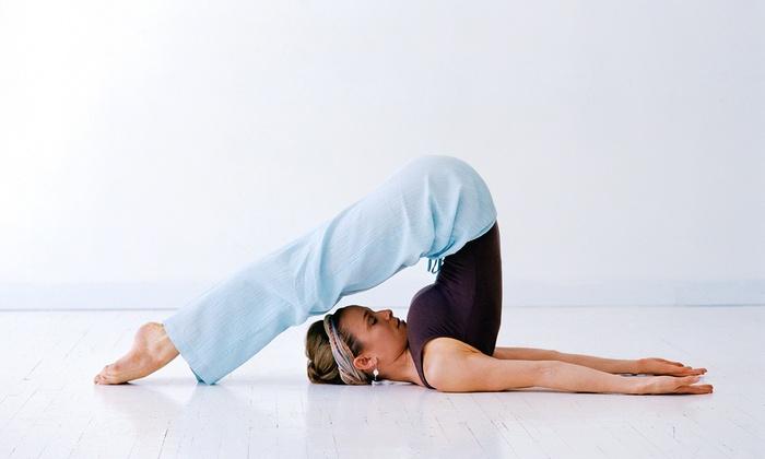 Balance Health Center - Center City West: 10 or 20 Yoga Classes at Balance Health Center (Up to  80% Off)
